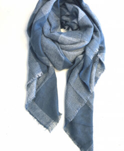 Soft and Snuggle Scarf – Blauw/grijs