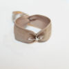 stretch armband beige