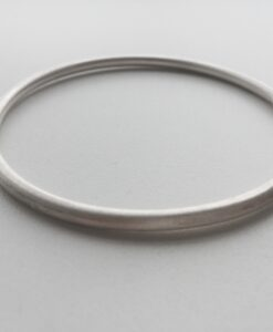 Massieve bangle – Zilver