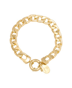 Statement armband goud